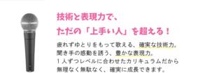 東京 錦糸町 ボーカル教室